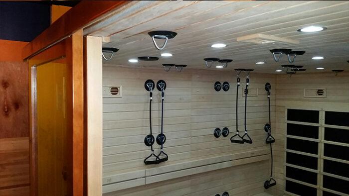 fitness sauna studio fitbomb