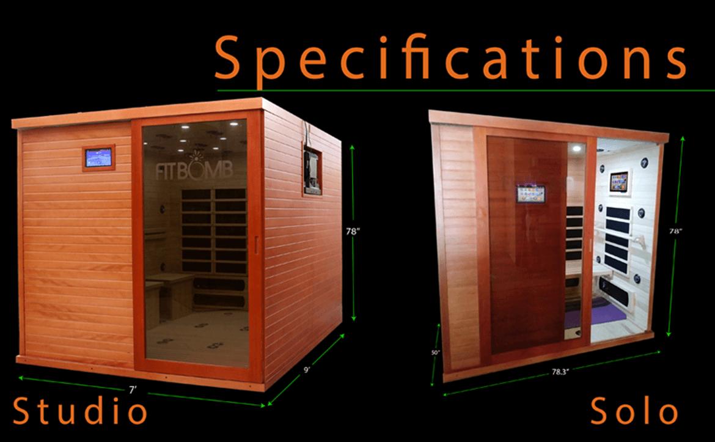sauna infrared specs 3